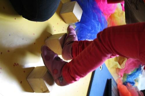 Cubes et pieds 500