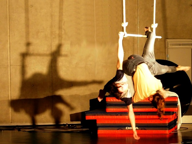 Trapeze duo